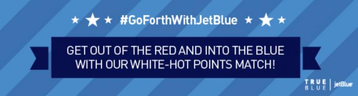 JetBlue TrueBlue Virgin America Point Match