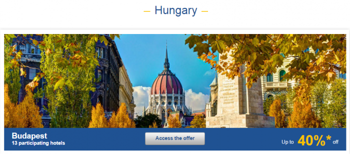 Le CLub AccorHotels Weekly Europe Up To 50 Percent Off Private Sales May 31 - June 6 2016 Hungary 1