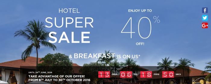 Le Club AccorHotels Super Sale
