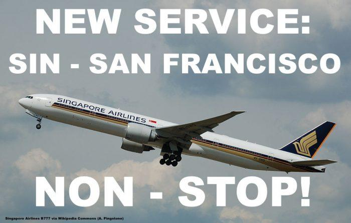 Singapore Airlines SFO