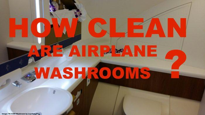 Airplane Washrooms