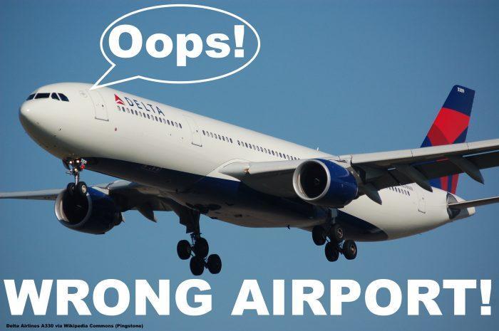 Delta A330 Airport