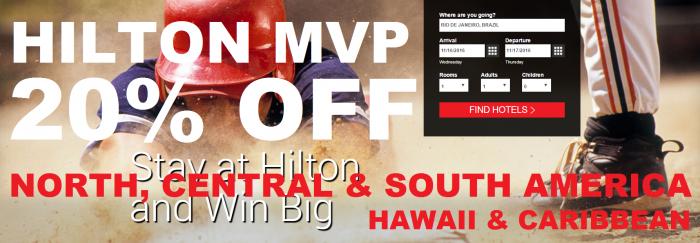 Hilton HHonors MVP Rates