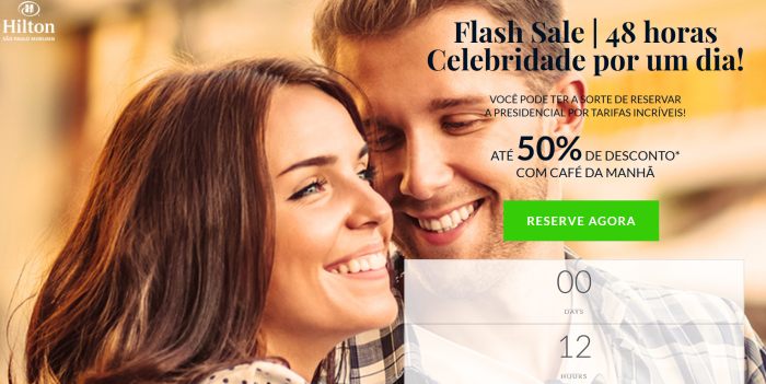 Hilton HHonors Sao Paulo Morumbi Flash Sale