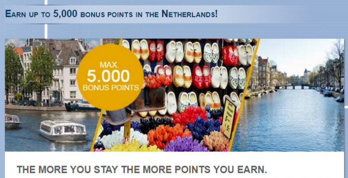 Le Club AccorHotels Netherlands Up To 5000 Bonus Points August 1 - November 30 2016