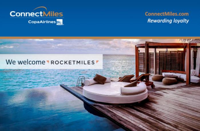 Rocketmiles Copa ConnectMiles Launch 2,000 Bonus Miles AUgust 31 2016