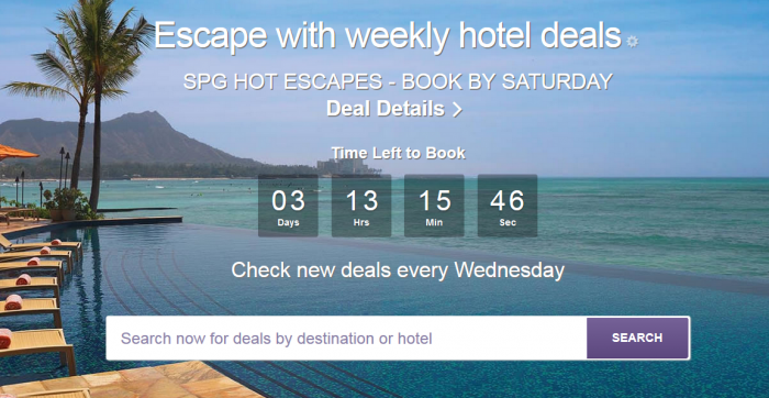 SPG Hot Escapes July 6 2016