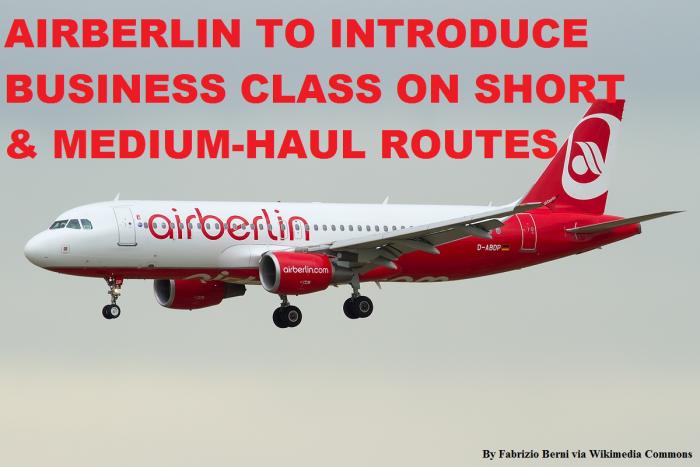 Airberlin Shorthaul Business Class