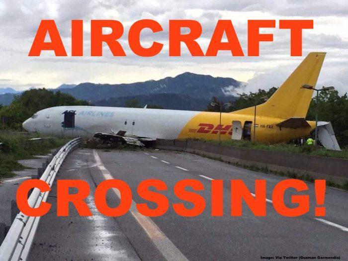 DHL Plane