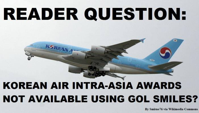 GOL Smiles Korean Air