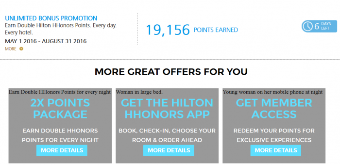 """hilton hhonors case The new hilton hhonors """"2k every day promotion"""" is as straightforward as it gets: earn 2,000 bonus points per night,  i can't believe that's the case,."""