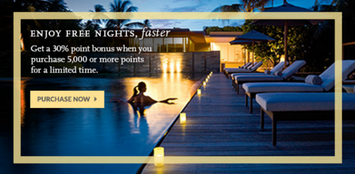 Hyatt Gold Passport Buy Points August 2016 Campaign