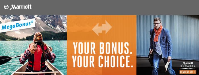 Marriott Rewards MegaBonus Fall 2016