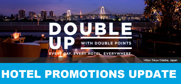 Hotel Promotions Update September 2016