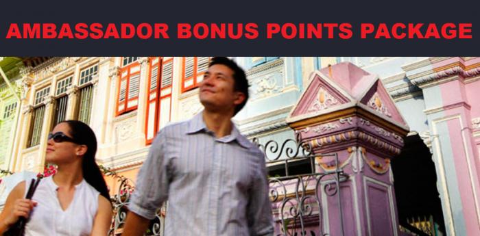 IHG Rewards Club Ambassador Bonus Points Package