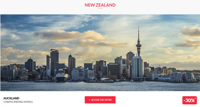 Le Club AccorHotels Global Private Sales September 6 2016 New Zealand 1