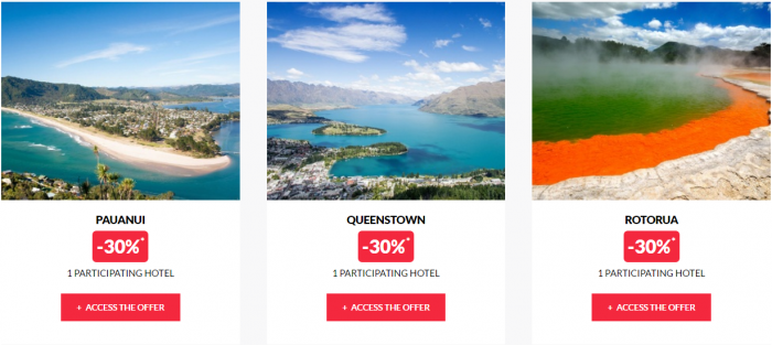 Le Club AccorHotels Global Private Sales September 6 2016 New Zealand 2