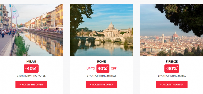 Le Club AccorHotels Private Sales September 14 2016 Italy 2