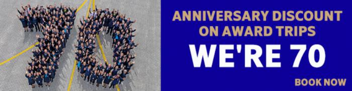 SAS Eurobonus 70th Anniversary Specials