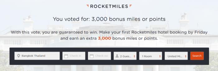 rcoketmiles-3000-bonus-miles-november-2016-special