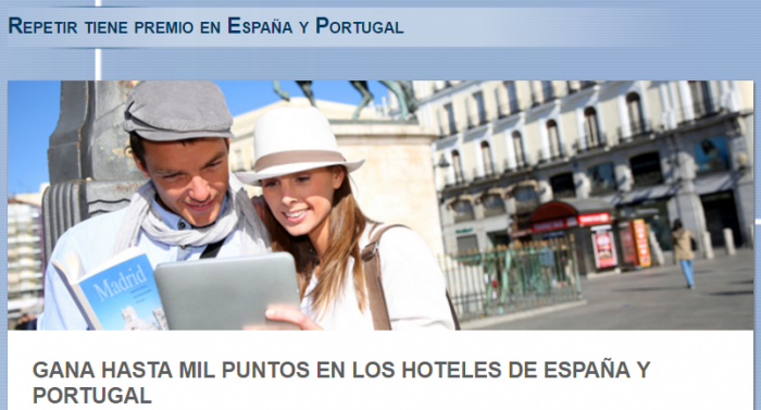 Le Club AccorHotels Spain & Portugal 1,000 Bonus Points February 1 - April 30 2017