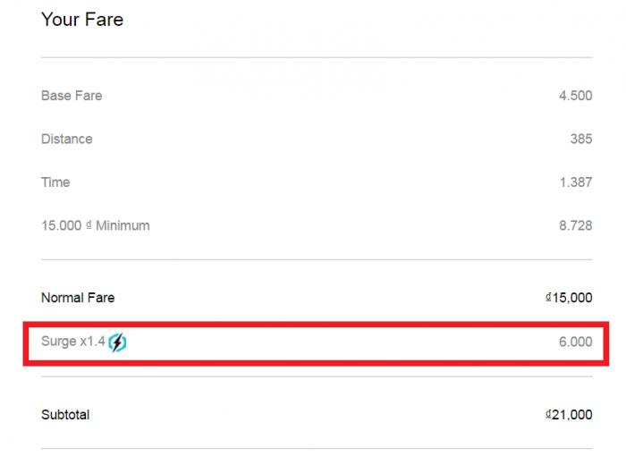 Whine Wednesdays Uber Surge Not Disclosed (Kuala Lumpur & Ho Chi Minh City) Disclosed