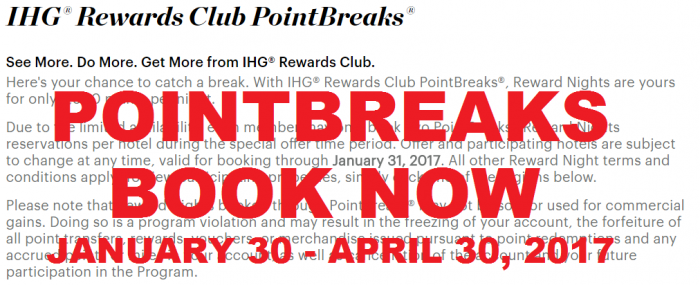 Ihg Rewards Club Released The Full List 129 Hotels Of Pointbreaks Properties This Past Friday And Has Now Enabled Booking Them