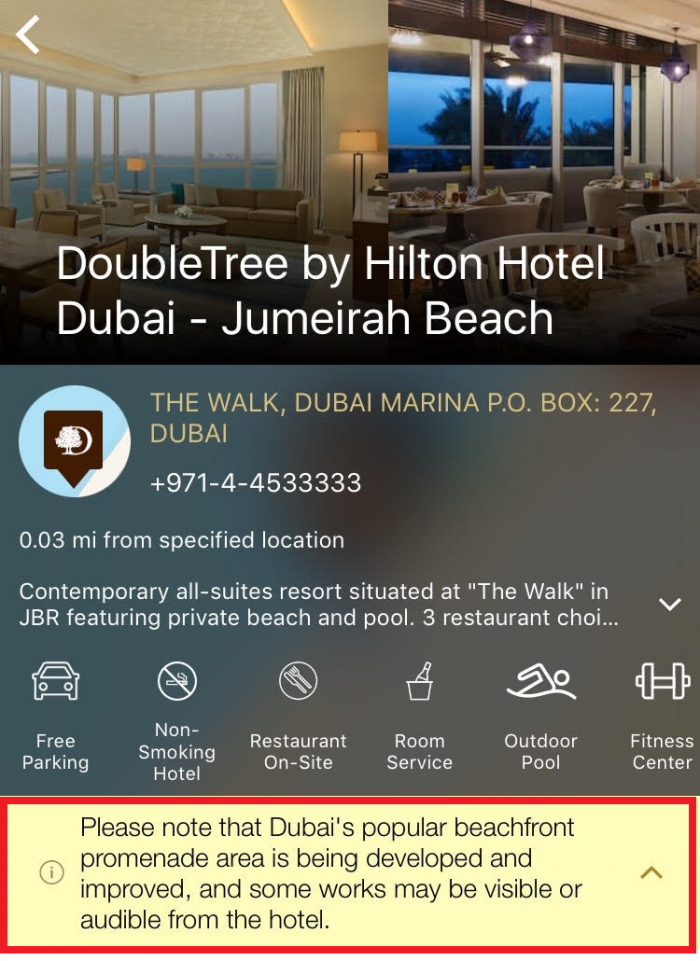 Compensation Clinic DoubleTree Jumeirah