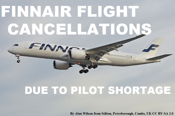 Finnair Pilot Shortage Flight Cancellations