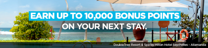 Hilton HHonors 10,000 Points Winback Offer January 13 – January 11, 2018
