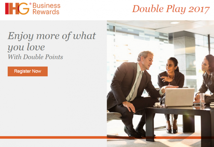 IHG Business Rewards Double Play 2017