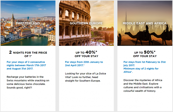 Le Club AccorHotels Private Sales January 2017 2