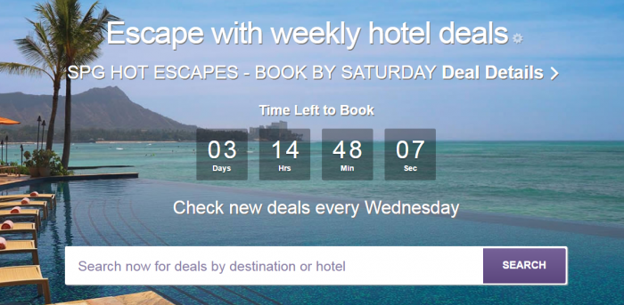 SPG Hot Escapes January 4 2017