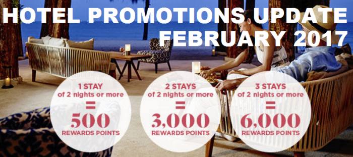 Hotel Promotions Update February 2017