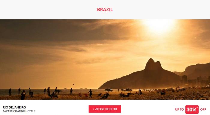 Le Club AccorHotels Private Sales Brazil 1