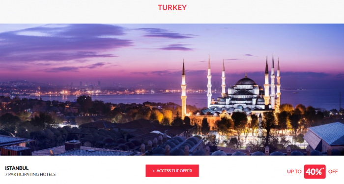 Le Club AccorHotels Private Sales Turkey 1