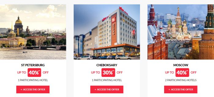 Le Club AccorHotels Worldwide Up To 50 Percent Off Private Sales February 1 2017 Russia 2