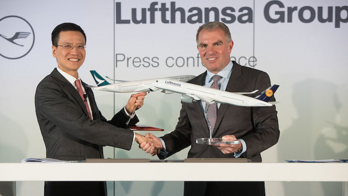 Cathay Pacific Lufthansa Codeshare Agreement