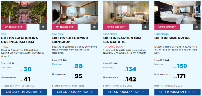 Hilton Honors Asia-Pacific March 2017 Flash Sale Southeast Asia