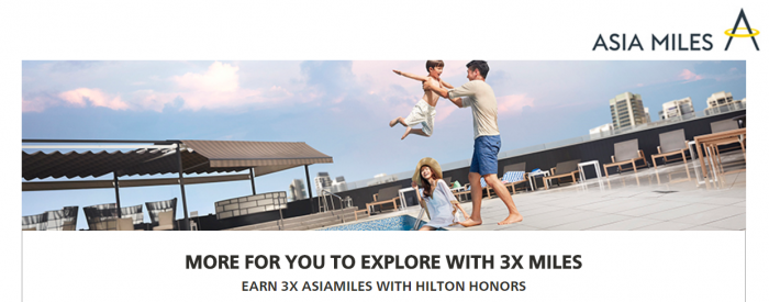 Hilton Honors Cathay Pacific Asia Miles Up To Triple Miles March 15 - June 30 2017