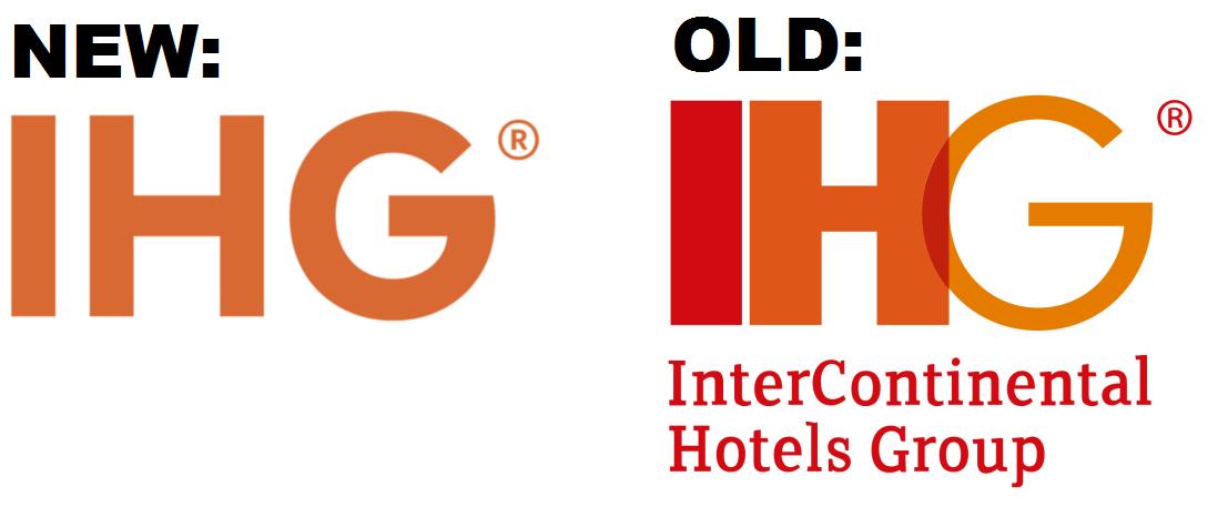 InterContinental Hotels Group Logo Refresh