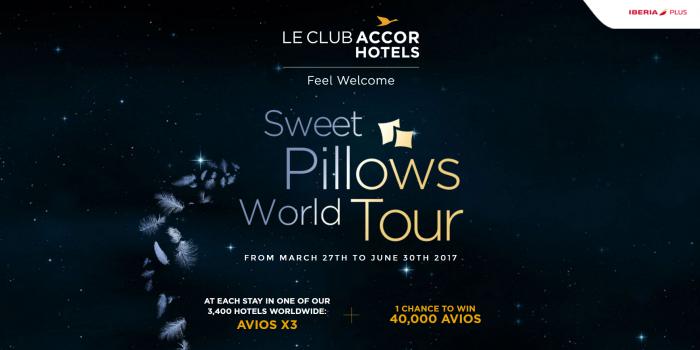 Le Club AccorHotels Iberia Plus Triple Avios March 27 - June 30 2017