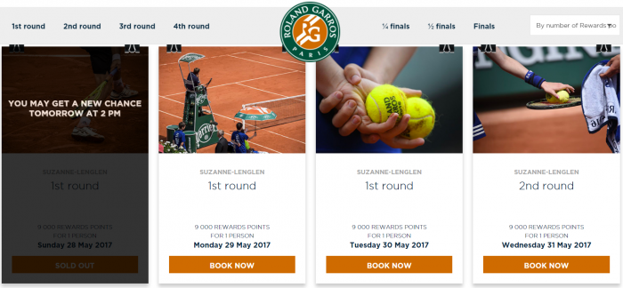 Le Club AccorHotels Roland Garros 1