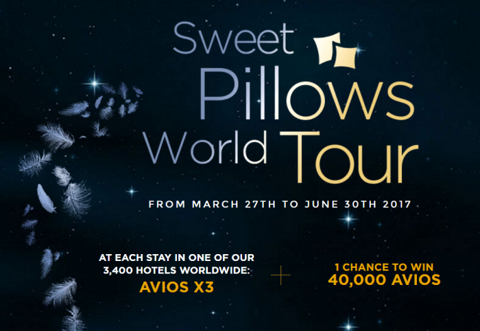 Le Club AccorHotels Triple Avios April 1 - June 30 2017