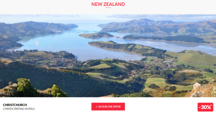 Le Club AccorHotels Worldwide Private Sales March 15 2017 New Zealand 1