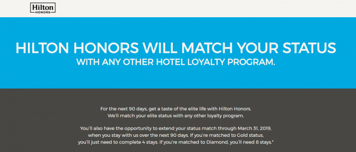 Reader Question Hilton Honors Diamond Status Match