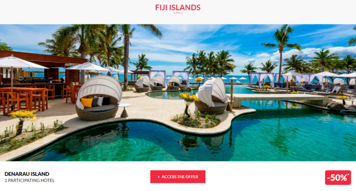 Le Club AcccorHotels Worldwide Up To 50 Percent Off Private Sales April 20 Fiji 1