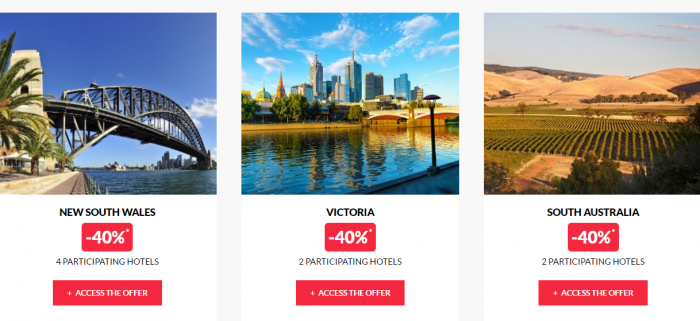 Le Club AccorHotels Private Sales April 13 Australia 2