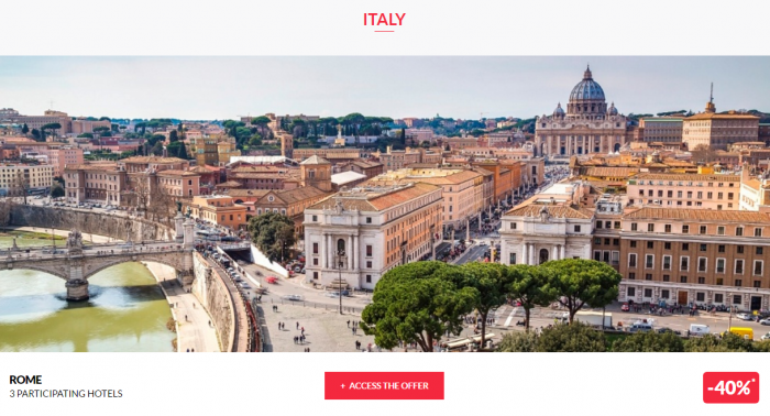 Le Club AccorHotels Private Sales April 13 Italy 1