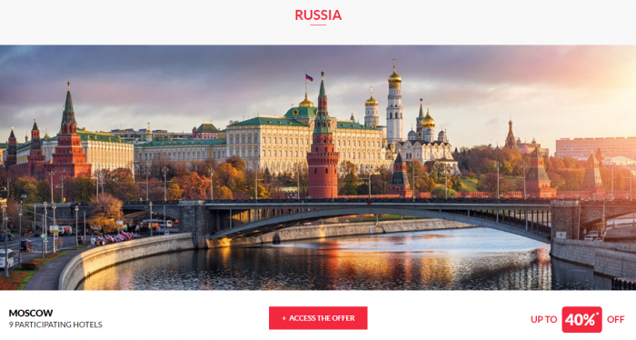 Le Club AccorHotels Private Sales April 13 Russia 1